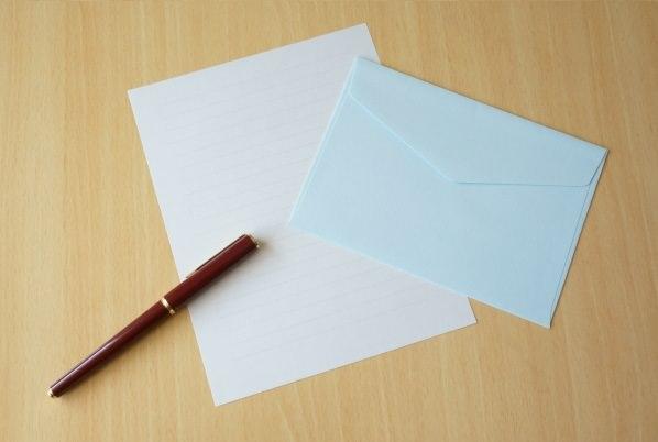 洋封筒の画像