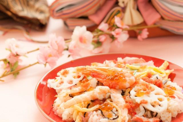 チラシ寿司の画像